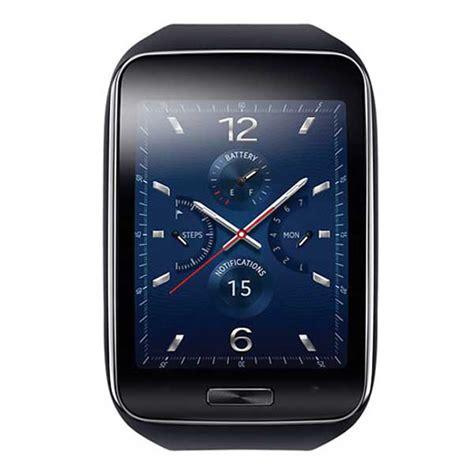 samsung galaxy gear  curved super amoled screen smartwatch