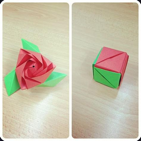 Origami Cube - 129 best images about gift boxes origami cubes on