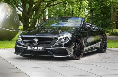 Brabus Mercedes by Official 850hp Brabus Mercedes Amg S63 Cabriolet Gtspirit