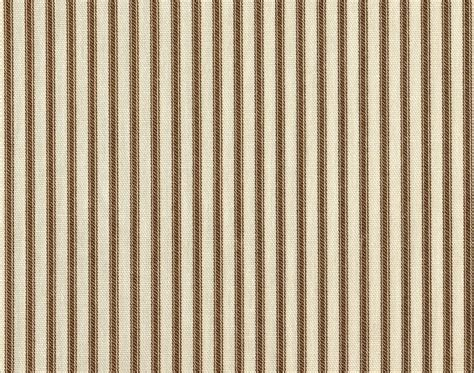 french stripe curtains 72 quot french country ticking stripe suede brown fabric
