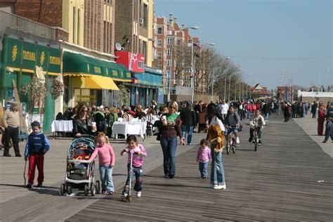 brighton beach boardwalk waterfronts