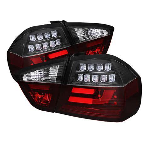 jeep back lights 06 08 bmw 3 series e90 4dr sedan fiber optic style led