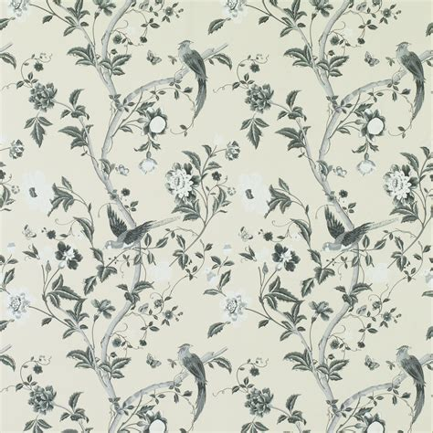 flower wallpaper laura ashley summer palace charcoal floral wallpaper bathroom styles