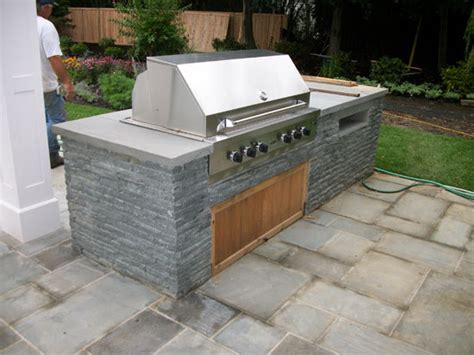 Backyard Grill Station Southton Outdoor Bbq Grilling Kitchen Contractors