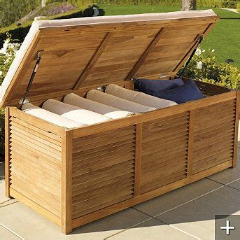 outdoor storage bench with cushion 17 best ideas about outdoor storage benches on pinterest