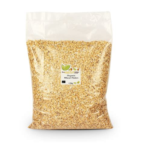 Whole Wheat Lazetta 2 5kg organic wheat flakes 2 5kg