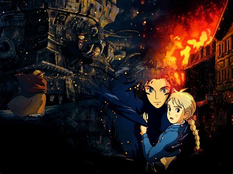 howl s howl s moving castle wallpaper wallpaperholic
