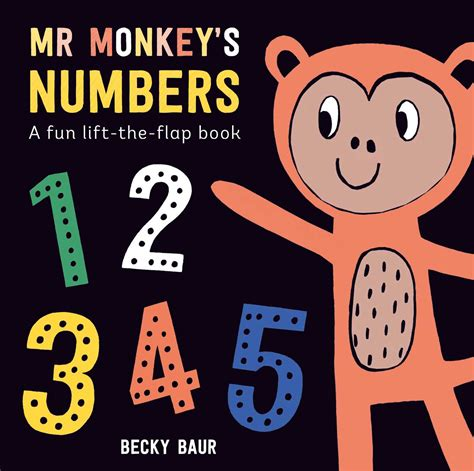 mr monkey s numbers book by becky baur official