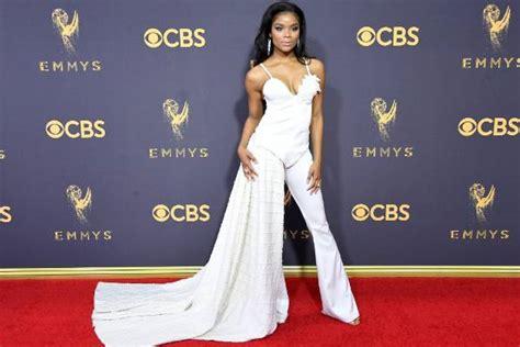 Lq Emmy Pink emmys 2017 carpet hits misses stuff co nz