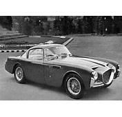 1953 Fiat Siata 8V Bertone  Studios
