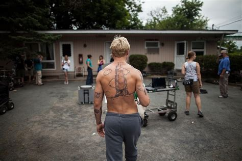 place beyond the pines tattoos the many tattoos of gosling in quot the place beyond the