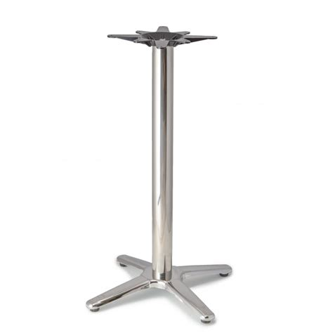 Patio Table Base Patio 4 Aluminum Table Base Counter Height 34 3 4 Quot Tablebases Quality Table Bases