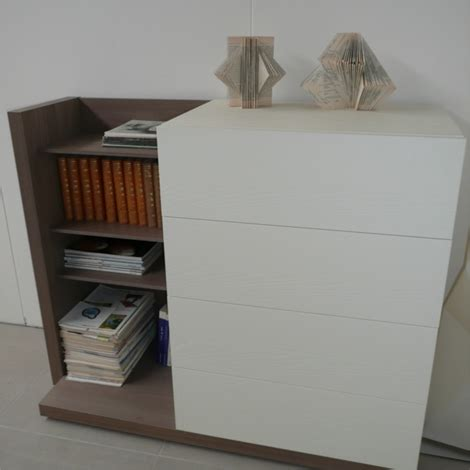 cassettiere design outlet caccaro filbook caccaro cassettiera libreria legno