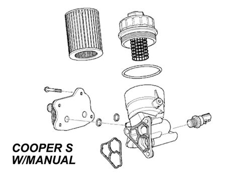 mini cooper s filter housing oem gen1 r50 r5