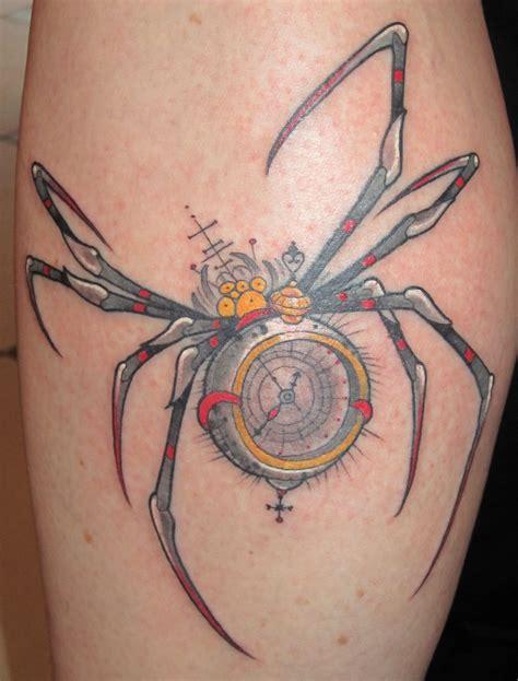 your flesh tattoo spider by matt rousseau your flesh