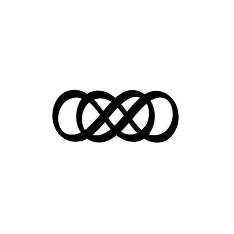 double infinity tattoo designs best 25 infinity tattoos ideas on