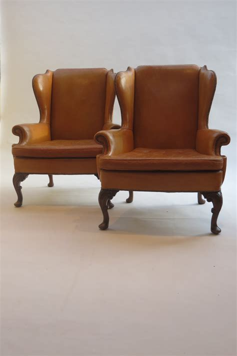 pair armchairs pair 1960s leather armchairs decorative modern