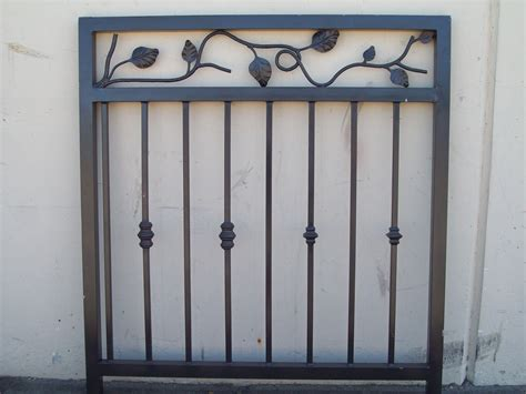 Decorative Iron Works by Ornamental 187 V M Iron Works Inc In The San Jose Bay Area