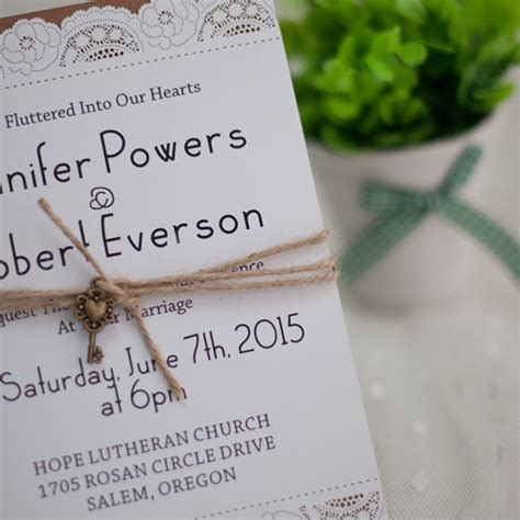 layered wedding invitations country graceful laser cut layered wedding invites with vintage ewws049 as low as 2 19