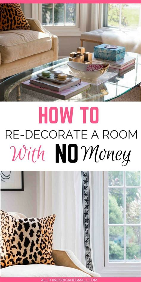 decor hacks how to decorate a room with no money room