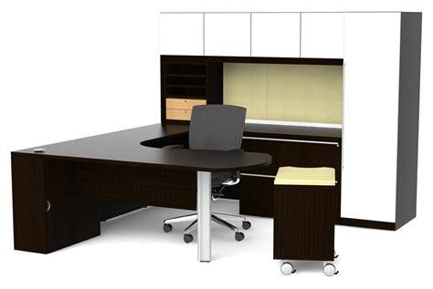 furniture cheap  shaped desk  elegant office room