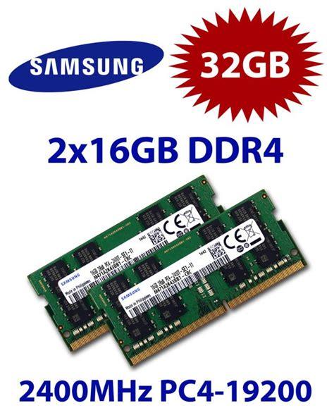 Sodimm 4gb Ddr4 Pc4 19200 2400 Oca Ram Memory Laptop samsung 2x 16gb 32gb kit ddr4 ram 2400 mhz pc4 19200 so dimm m471a2k43cb1 crc mac speichershop