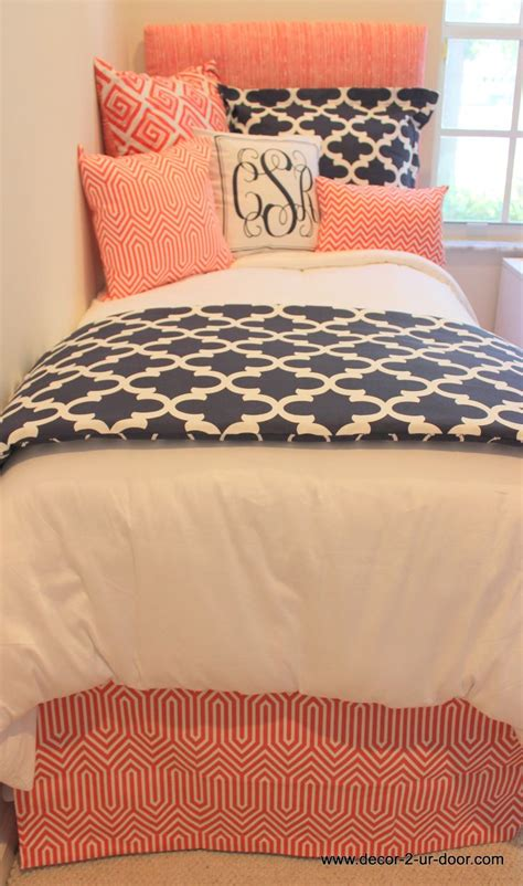 navy and coral bedding 60 best images about coral and navy bedding and decor on
