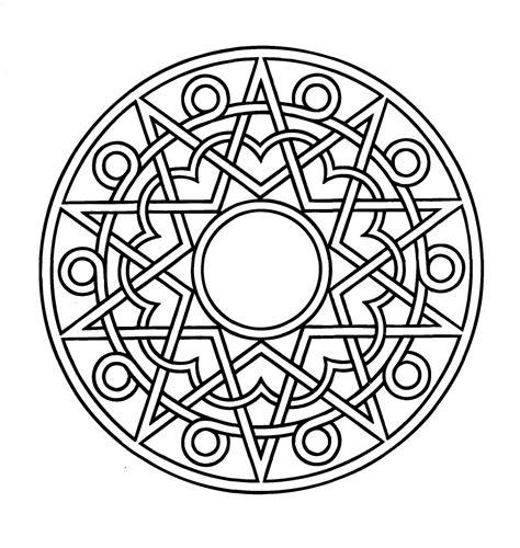 imagenes mandalas arabes mandalas para pintar mandala 225 rabe iv