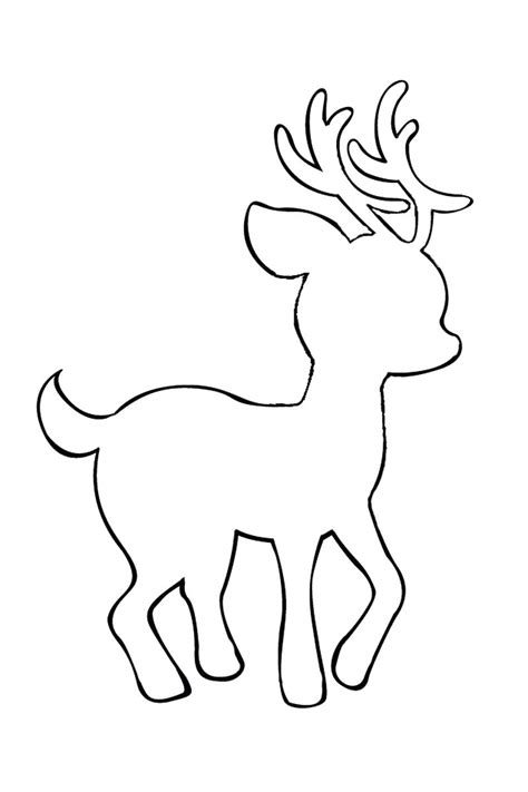 reindeer cut out template template printable flower template cut out shamrock