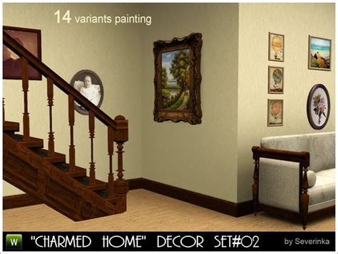 my sims 3 charmed home decor set part 2 by severinka