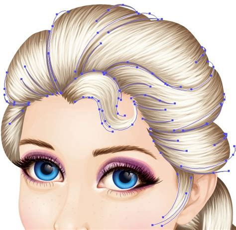 tutorial illustrator advanced create an advanced frozen vector portrait in adobe