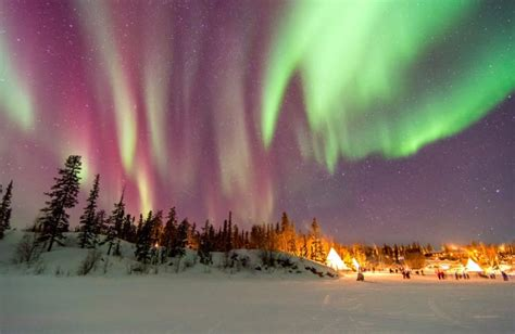 can you see the northern lights in vancouver canada 150 free flights to the northern lights in canada viva