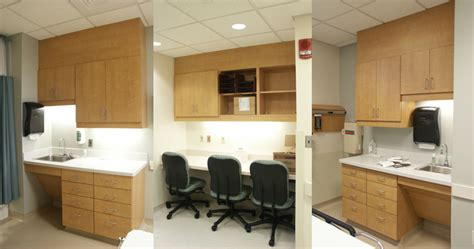 St Lukes Emergency Room by Cabinetry Designed For Hospitals Facilities