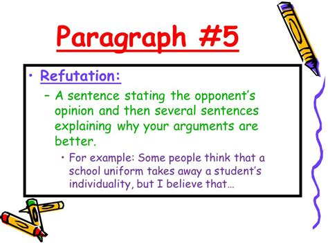 Refutation Essay Topics by Argumentative Essay Refutation Exle