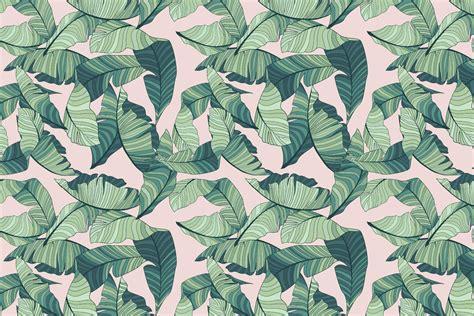 wallpaper pink leaves pink and green tropical leaf wallpaper murals wallpaper