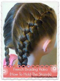 dutch braids   messy bun cute  girls hairstyle  short  long hair good