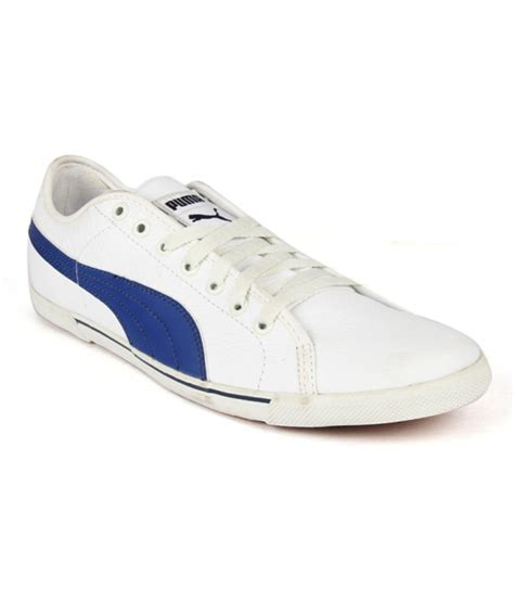 white casual shoes price in india buy white