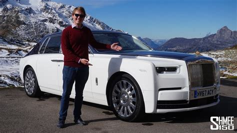 roll royce rois the rolls royce phantom is the most luxurious car