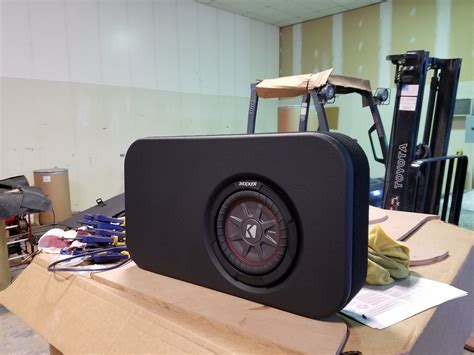 subs truck seat sub enclosure the rear seat ford f150 forum