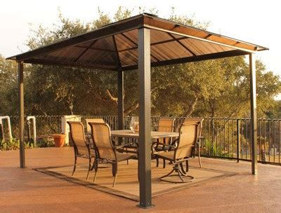 Aluminum Gazebo Kits Improving Your Patio With An Aluminum Gazebo Ideas 4 Homes