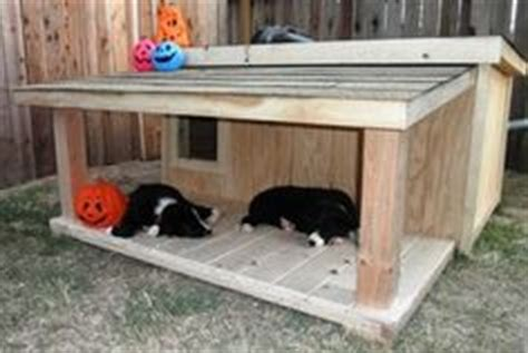 dog house covered porch dog house plans love the fact that it has a covered porch for the pets to rest or