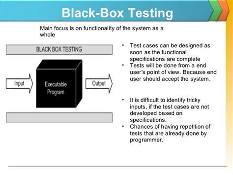 black box testing testing techniques