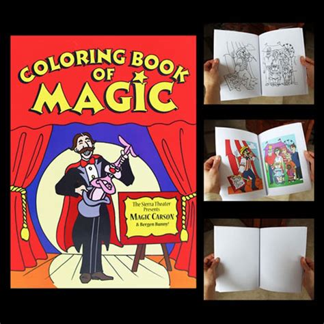 the color of magic book magic coloring book trick fast shipping magictricks