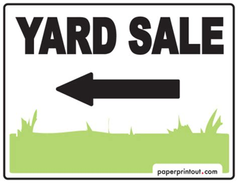printable yard sale signs yard sale signs download a free printable sign