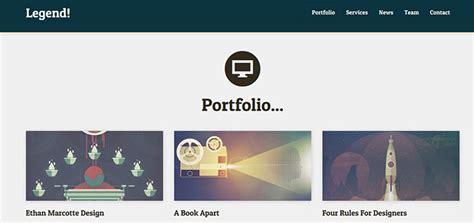 bootstrap themes portfolio 45 best bootstrap portfolio website templates web