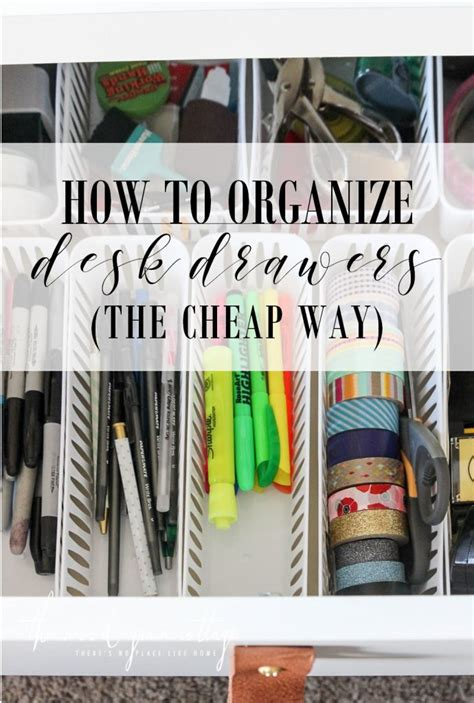 how to organize desk drawers how to organize desk drawers the wood grain cottage