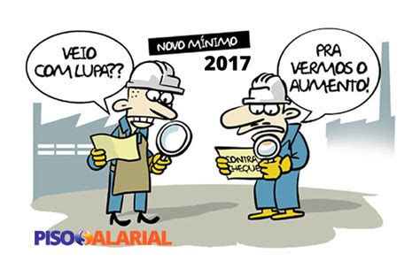 salario frentista parana 2016 2017 sal 225 rio m 237 nimo 2017 valor tabela e reajuste atualizado