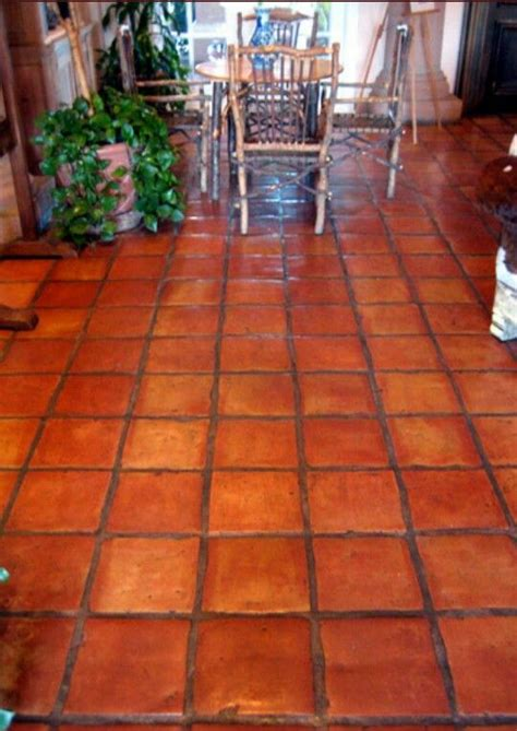 spanish for floor saltillo tiles beautiful spanish style home pinterest