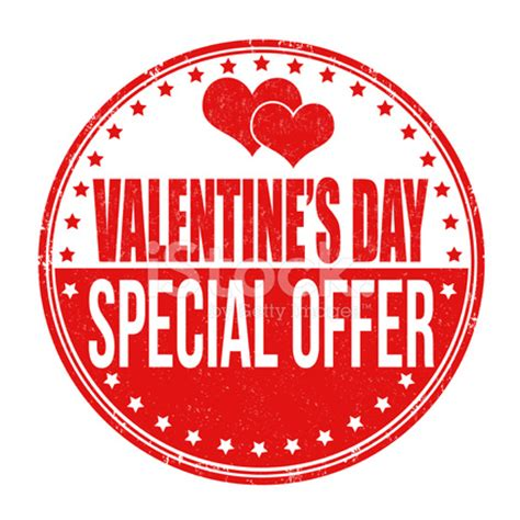 day special valentines day special offer st stock photos