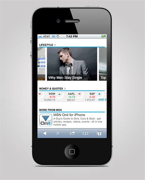 3 mobile homepage msn mobile homepage aaron shepherd